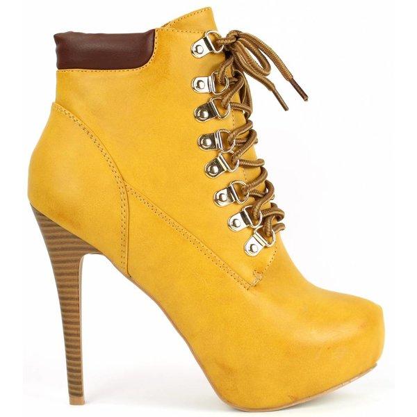 *dovia* Stiletto Booties - camel