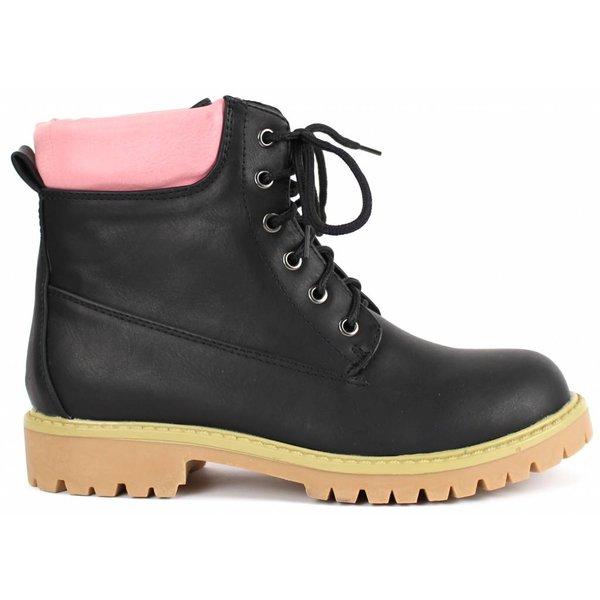 *dovia* Winterboots - black/pink