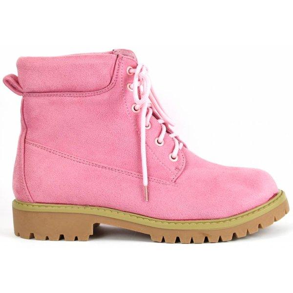 *dovia* Winterboots in Wildlederoptik - light pink
