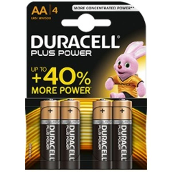 Batterij Plus Power Duralock AA blister 4