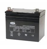 VRLA-LPC-AGM accu 12 volt 33 ah LPC12-33