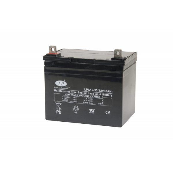AGM 12-33 VRLA-LPC accu 12 volt 33 ah