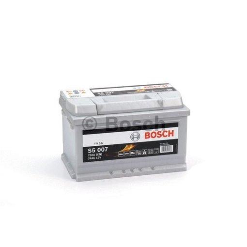 Bosch Auto accu 12 volt 74 ah Type S5007