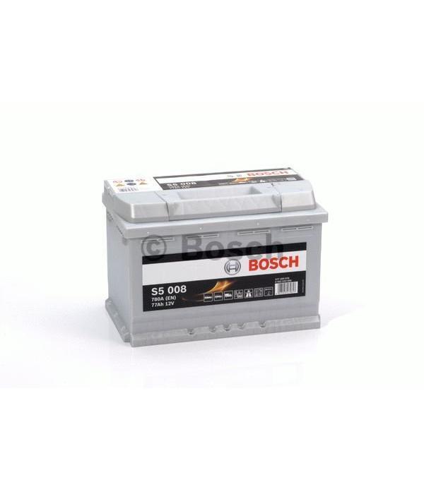 Bosch Auto accu 12 volt 77 ah Type S5 008