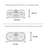 Euro 320 A 50 mm² mannelijk / male stekker