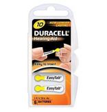 Duracell 10x geel DA10 hoorapparaat batterij