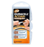 Duracell DA312 bruin hoorapparaat batterij