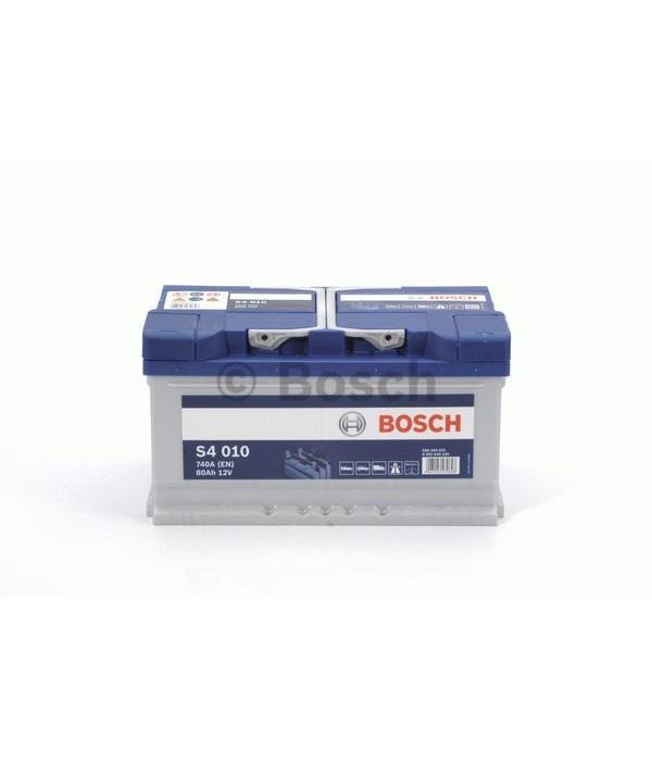 Bosch Auto accu 12 volt 80 ah Type S4010