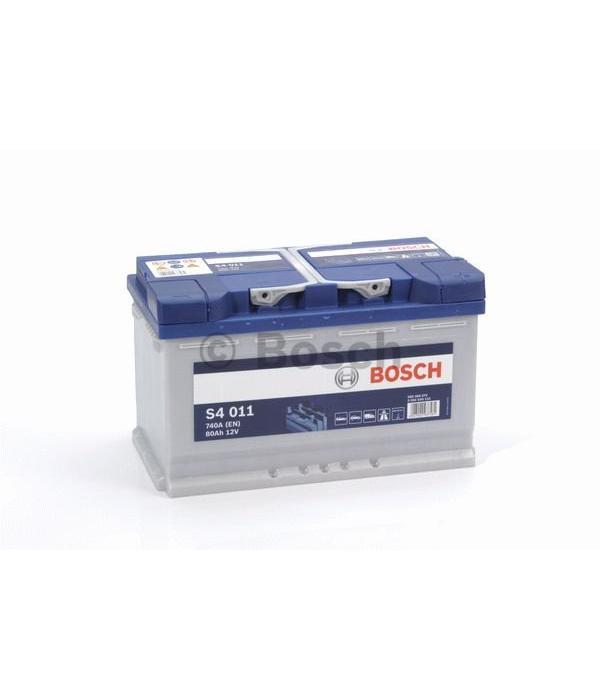 Bosch Auto accu 12 volt 80 ah Type S4011