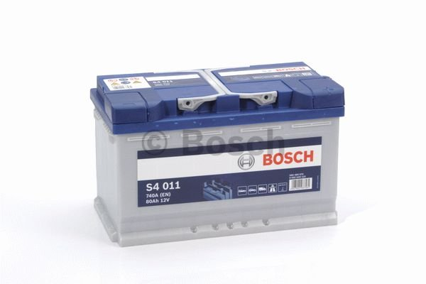 bosch auto accu 12 volt 80 ah type s4011 accu service. Black Bedroom Furniture Sets. Home Design Ideas