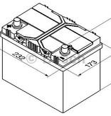 Bosch Auto accu 12 volt 60 ah Type S4025