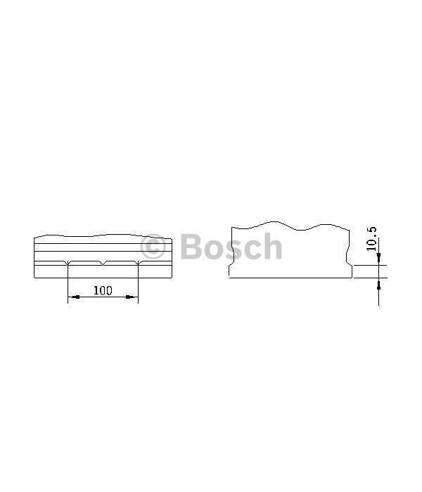 Bosch Auto accu 12 volt 70 ah Type S4026