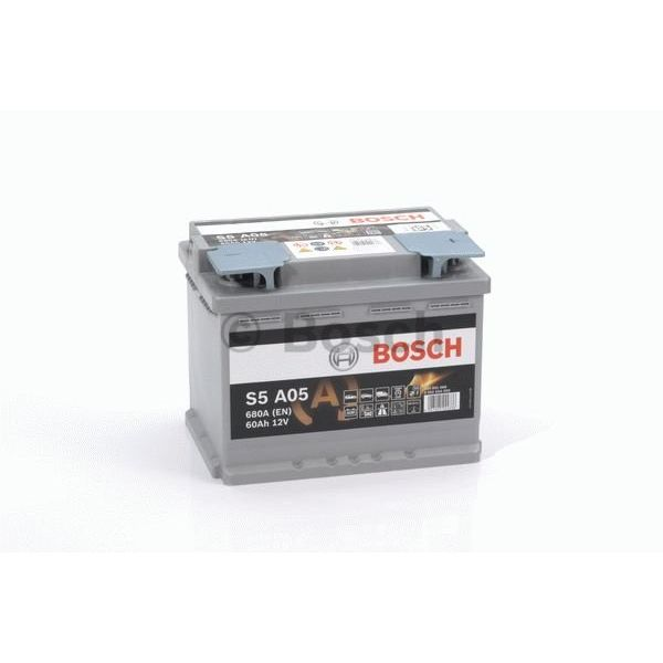 S5 A05 AGM start accu 12 volt 60 ah