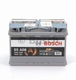 Bosch Auto accu AGM 12 volt 70 ah Type S5A08
