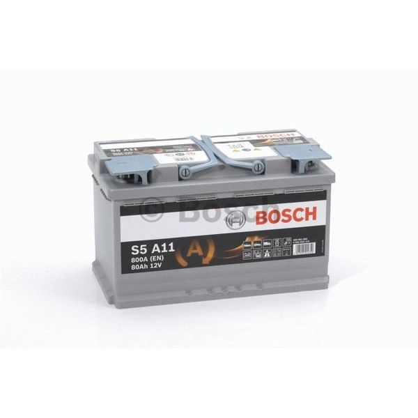 S5A11 AGM start accu 12 volt 80 ah