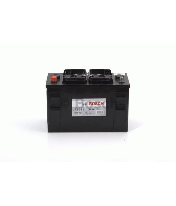 Bosch Startaccu 12 volt 90 ah T3 031 Black truckline