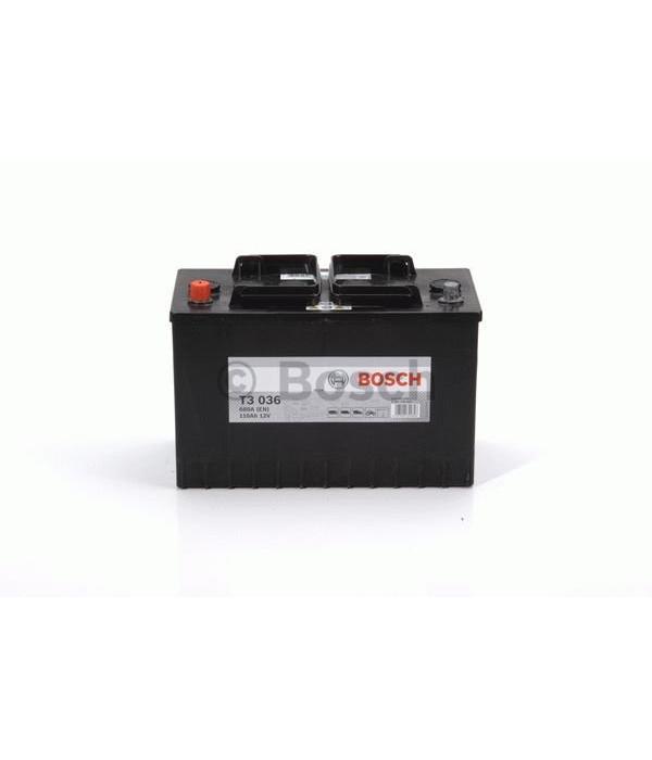 Bosch Startaccu 12 volt 110 ah T3 036 Black truckline