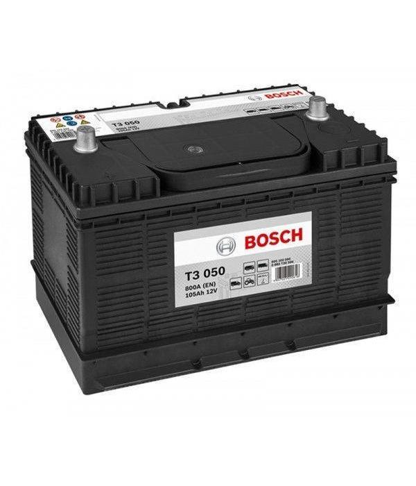 Bosch Startaccu 12 volt 105 ah T3 050 Black truckline