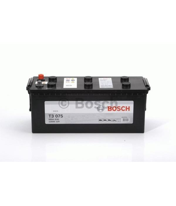 Bosch Startaccu 12 volt 120 ah T3 075 Black truckline