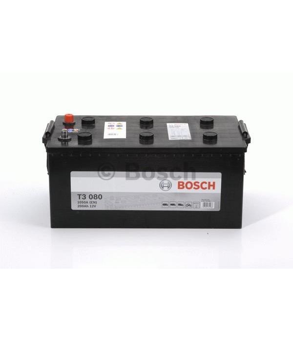 Bosch Startaccu 12 volt 200 ah T3 080 Black truckline