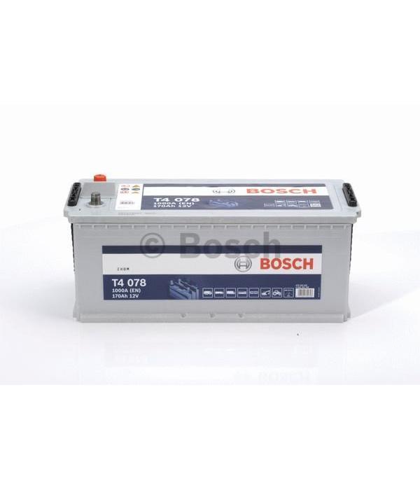 Bosch Startaccu 12 volt 170 ah T4 078 Black truckline