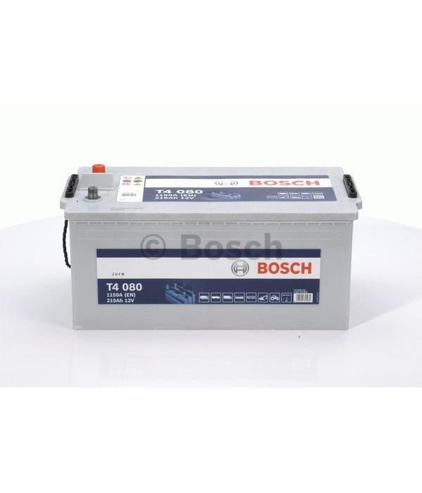 Bosch Startaccu 12 volt 215 ah T4 080 Black truckline