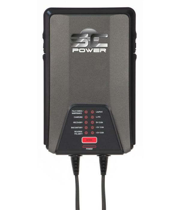 SC 38 Power premium 3,8 A acculader