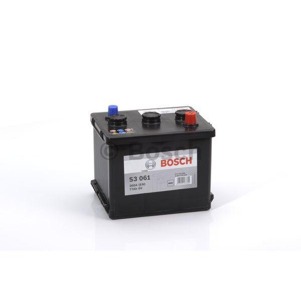Bosch S3061 start accu 6 Volt 77 ah
