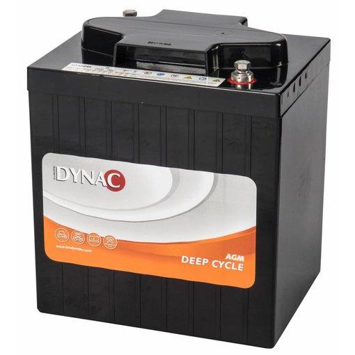 Dynac 6 volt 245 ah type DTA 6245 AGM Deep Cycle accu