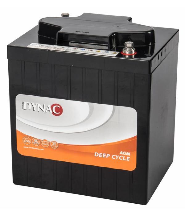 Dynac Deep Cycle accu 6 volt 245 ah Type DTA 6245 AGM