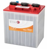 Dynac Deep Cycle accu 6 volt 250 ah Type 6 PzS 195