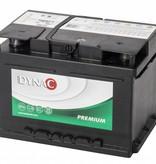 Dynac Auto accu 12 volt 60 ah Type 56077L