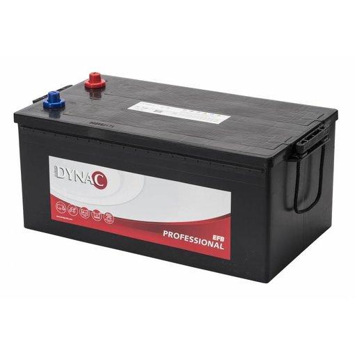 Dynac EFB professional 12 volt 225 ah startaccu
