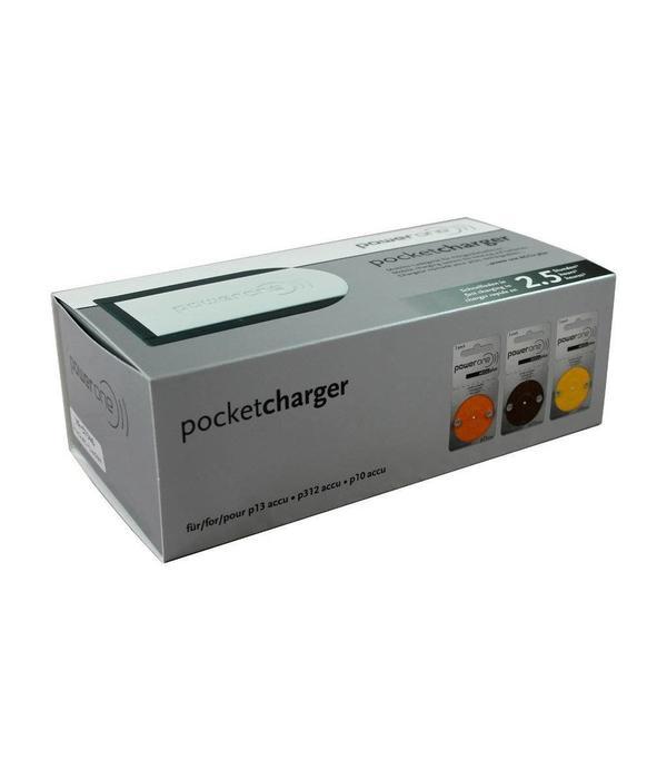 PowerOne Powerone P10 - P13 - P312 hoorbatterij oplader NiMH
