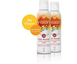 Vision All Day Sun Protection Kids Mousse SPF 30