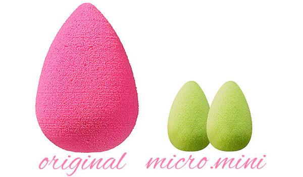 Beautyblender Original vs Beautyblender mico.mini