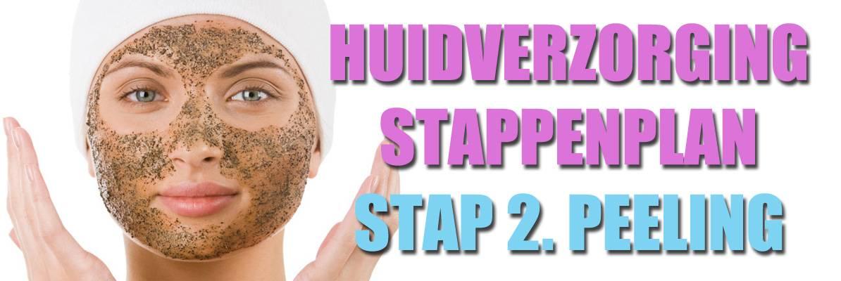 Huidverzorging stappenplan: Gezichtspeeling