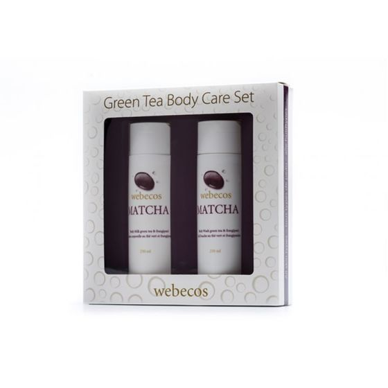 Webecos Matcha Body Care Set