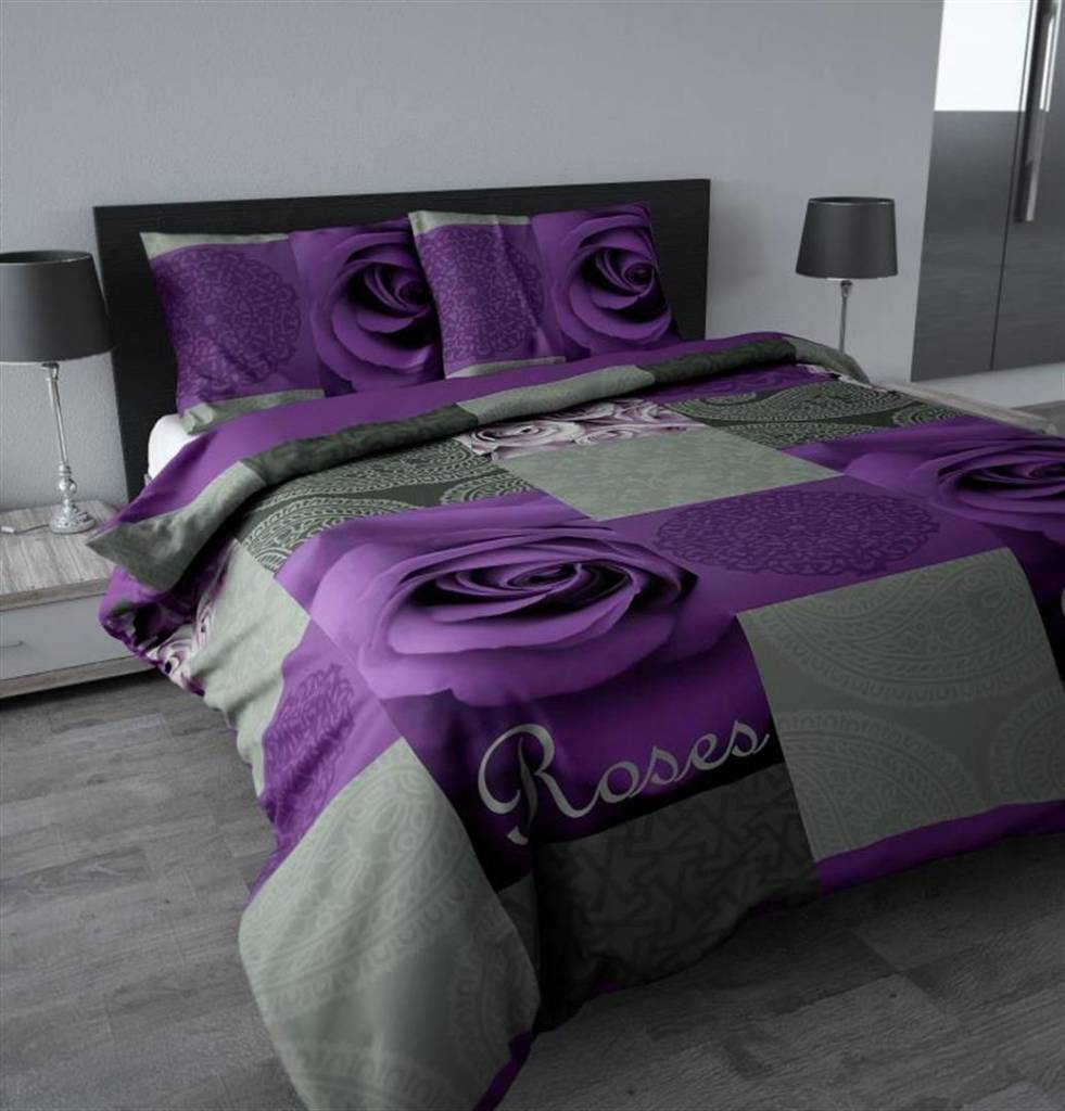 Slaapkamer grijs paars ~ [Spscents.com]