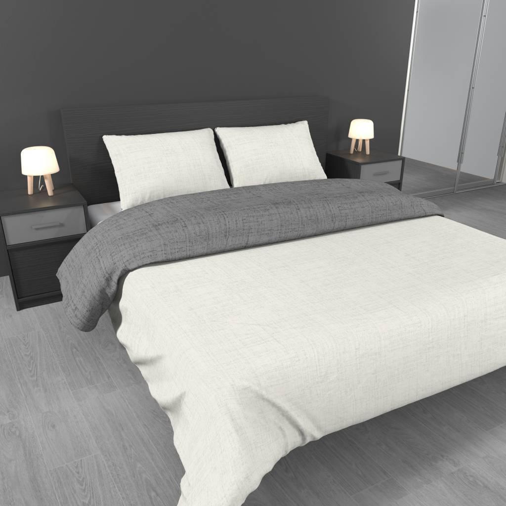 Slaapkamer grijs wit beste inspiratie voor interieur for Gang grijs en wit