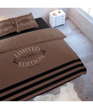 Pierre Cardin dekbedovertrek limited edition bruin