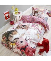 Dreamhouse Bedding Kids dekbedovertrek kitty