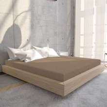 HomeCare Jersey Hoeslaken Taupe