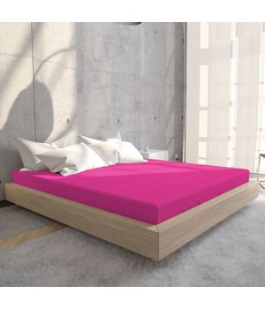 HomeCare Jersey Hoeslaken Hot Pink