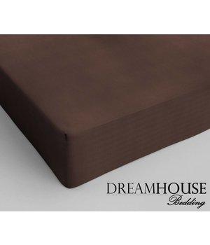 Dreamhouse Bedding Katoenen hoeslaken Bruin