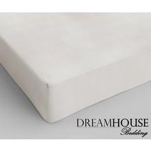 Dreamhouse Bedding Katoen Hoeslaken Creme