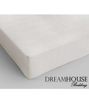 Dreamhouse Bedding Katoenen hoeslaken Creme