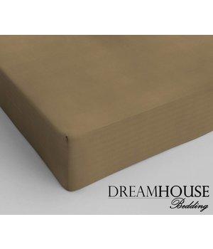 Dreamhouse Bedding Katoenen Hoeslaken Taupe