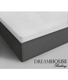 Dreamhouse Bedding Topper Katoenen Hoeslaken Wit