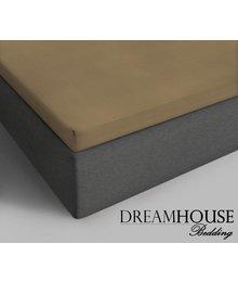 Dreamhouse Bedding Topper Katoenen Hoeslaken Taupe